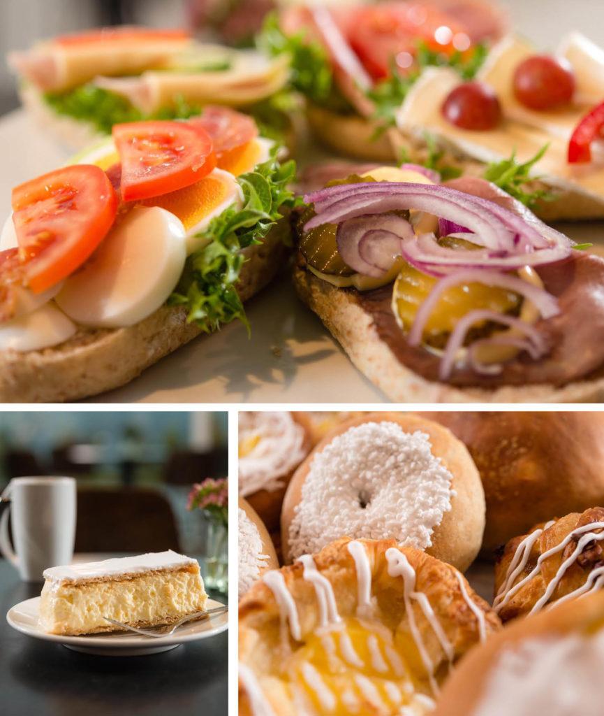 Mat fra Næss Bakeri og Kafe