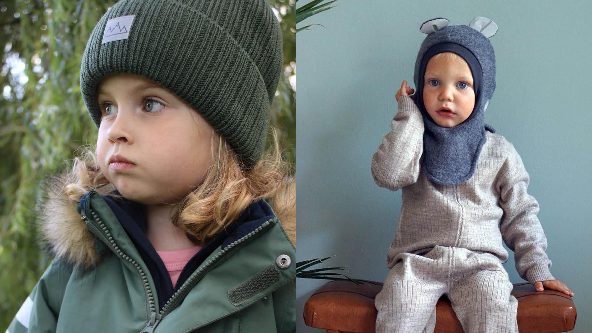 Barn med klær fra Barnas Hus