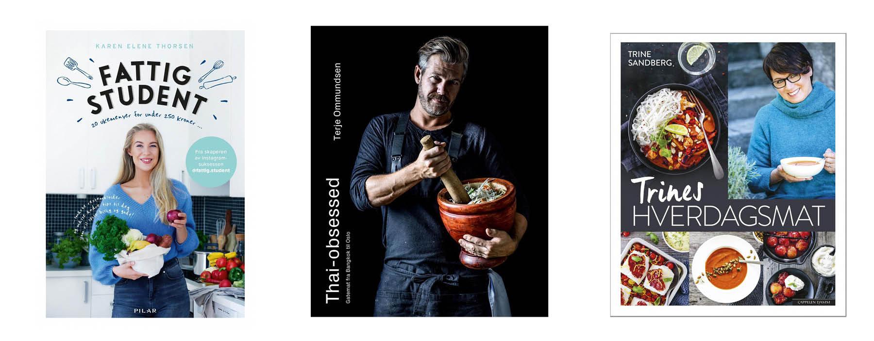 MAMMUT salg kokeboeker Norli