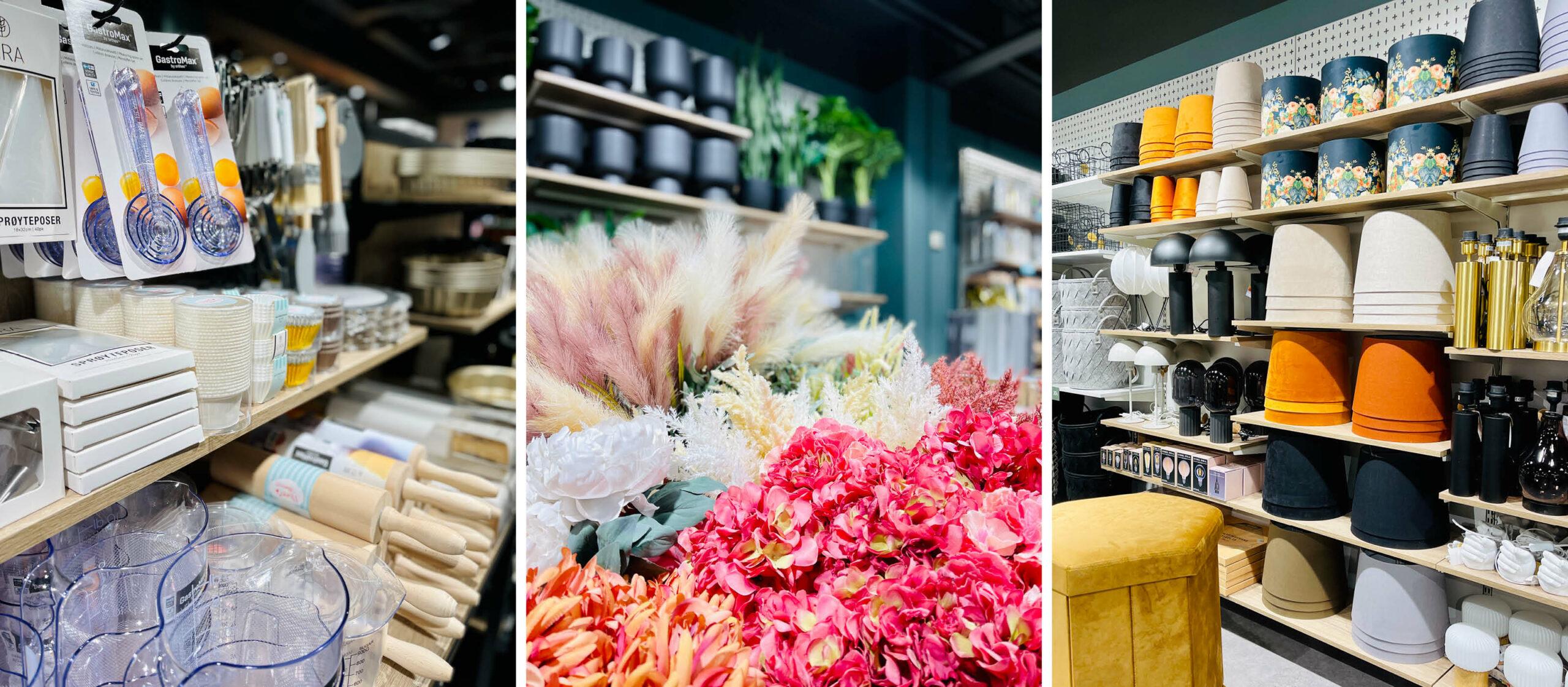 Kjøkkenvarer og interiør hos Nille
