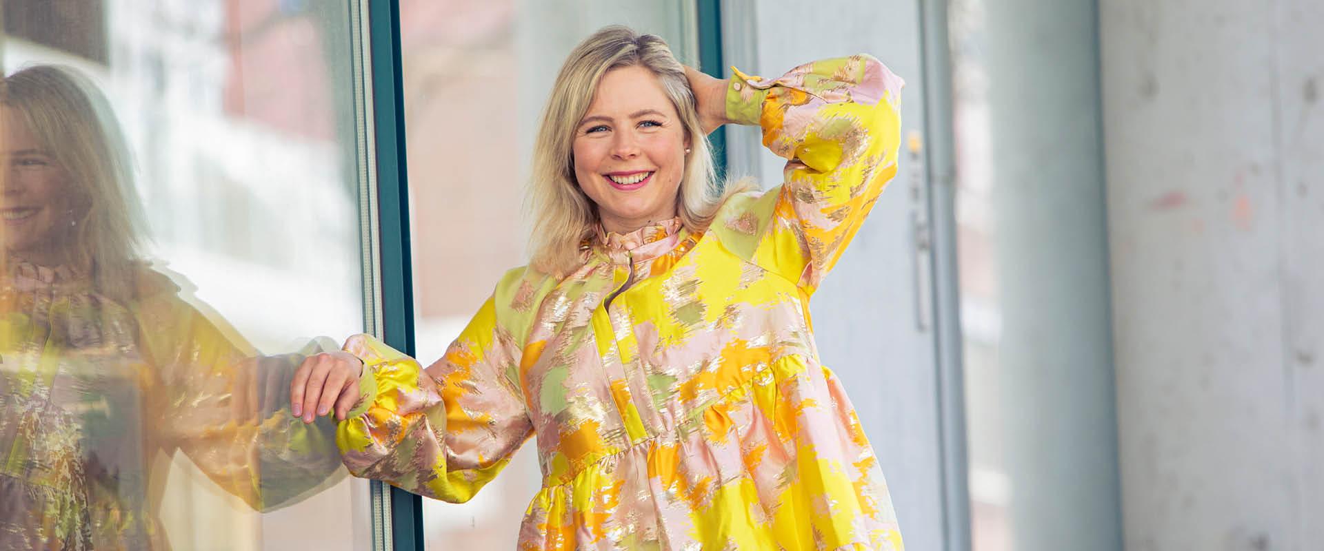 Maren Lundby med Stine Goya kjole fra MAPT