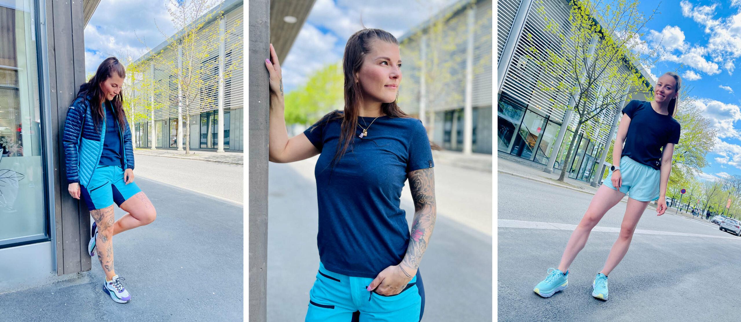 Modeller med sport-og fritidsklær fra Sport 1