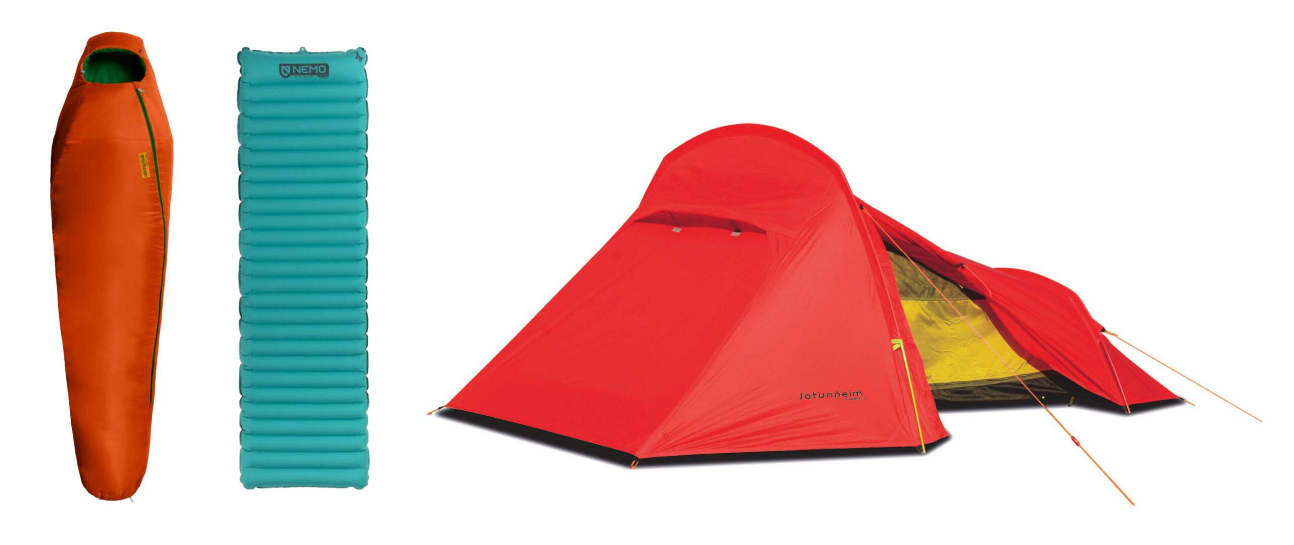 Produkter til telttur fra Sport 1