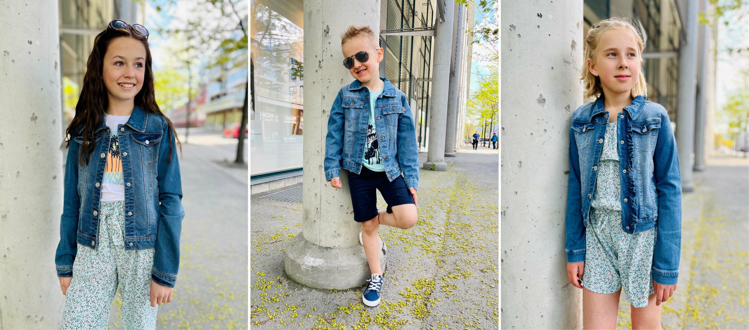 Modeller med klær fra Name It