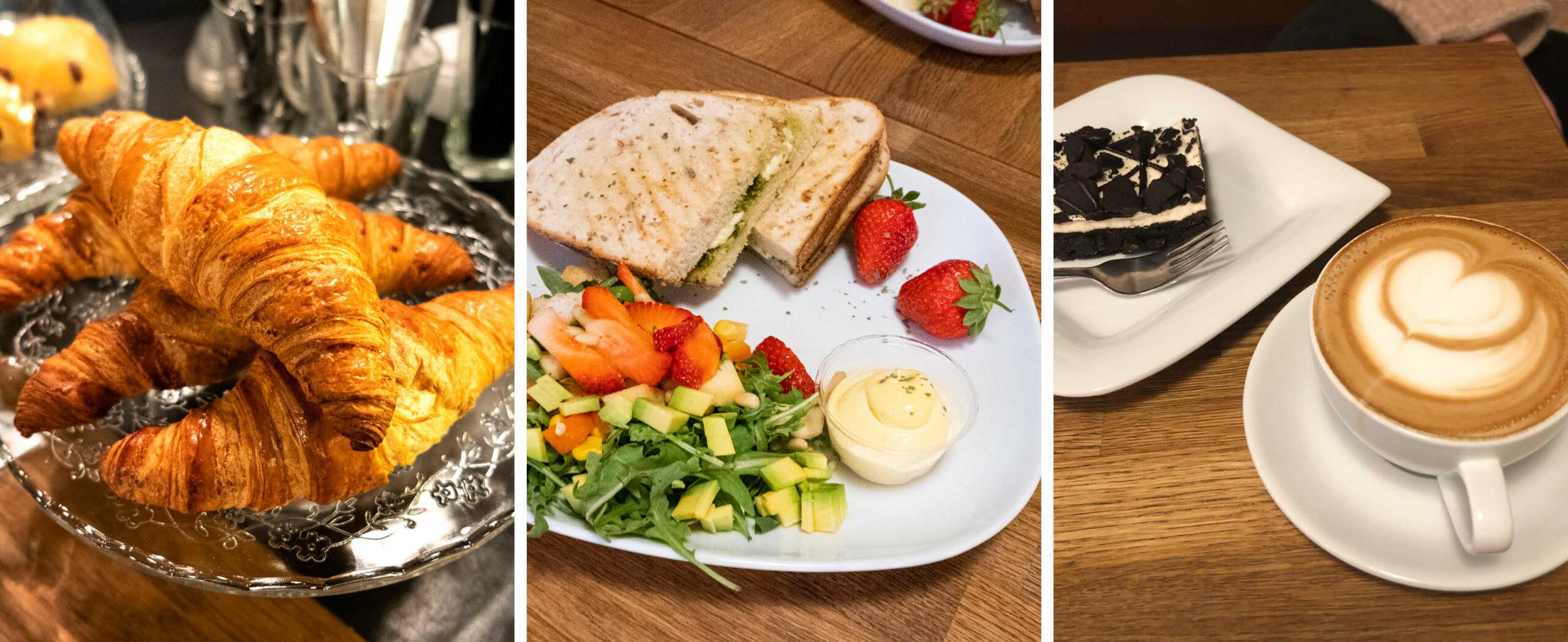 Mat, kaker og kaffe fra Krutt