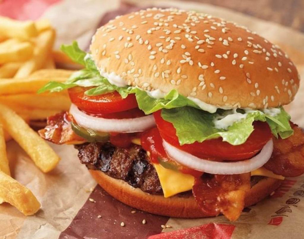 Bilde av hamburger