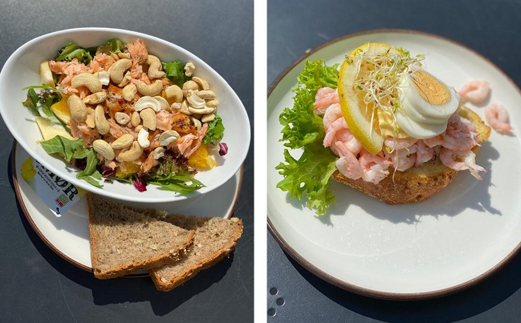 Bilde av mat fra Bakeriet i Brumunddal
