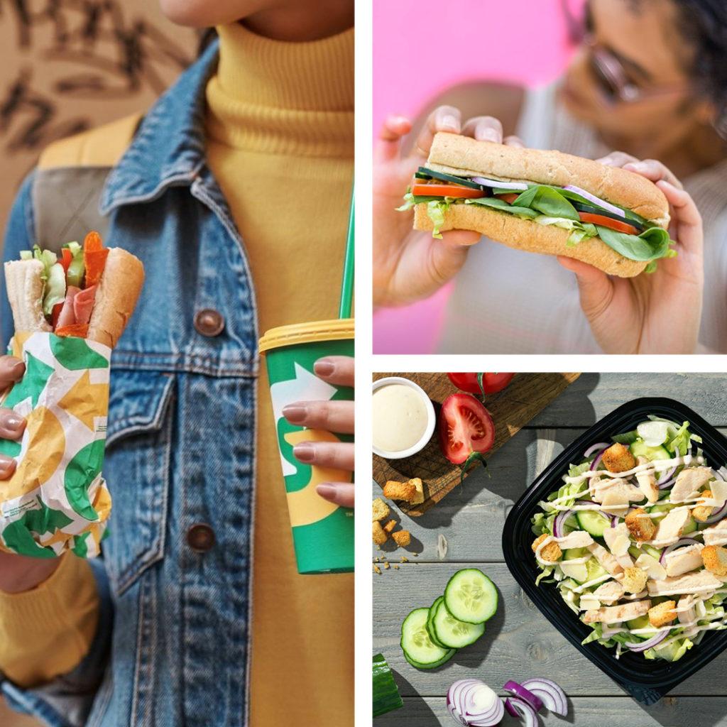Bilde av mat fra Subway