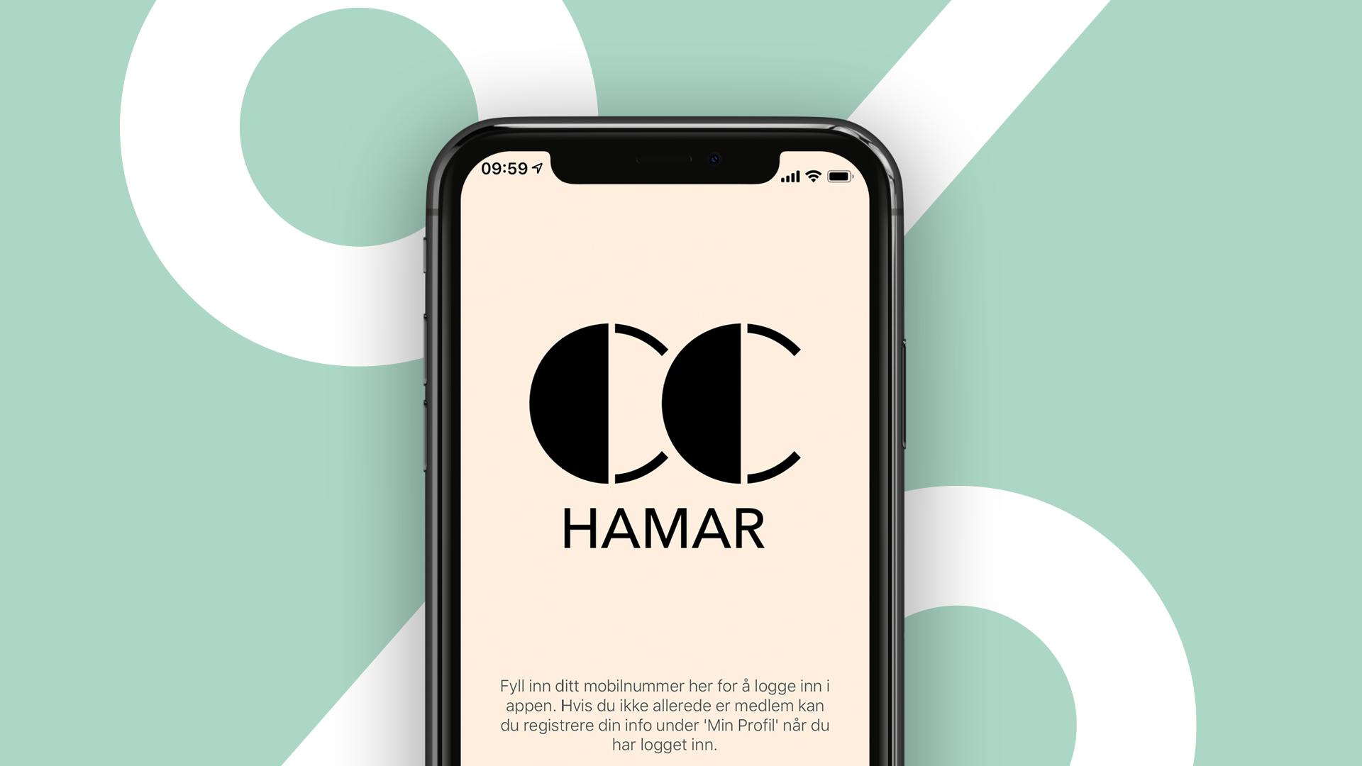 Bilde av kundeklubb app