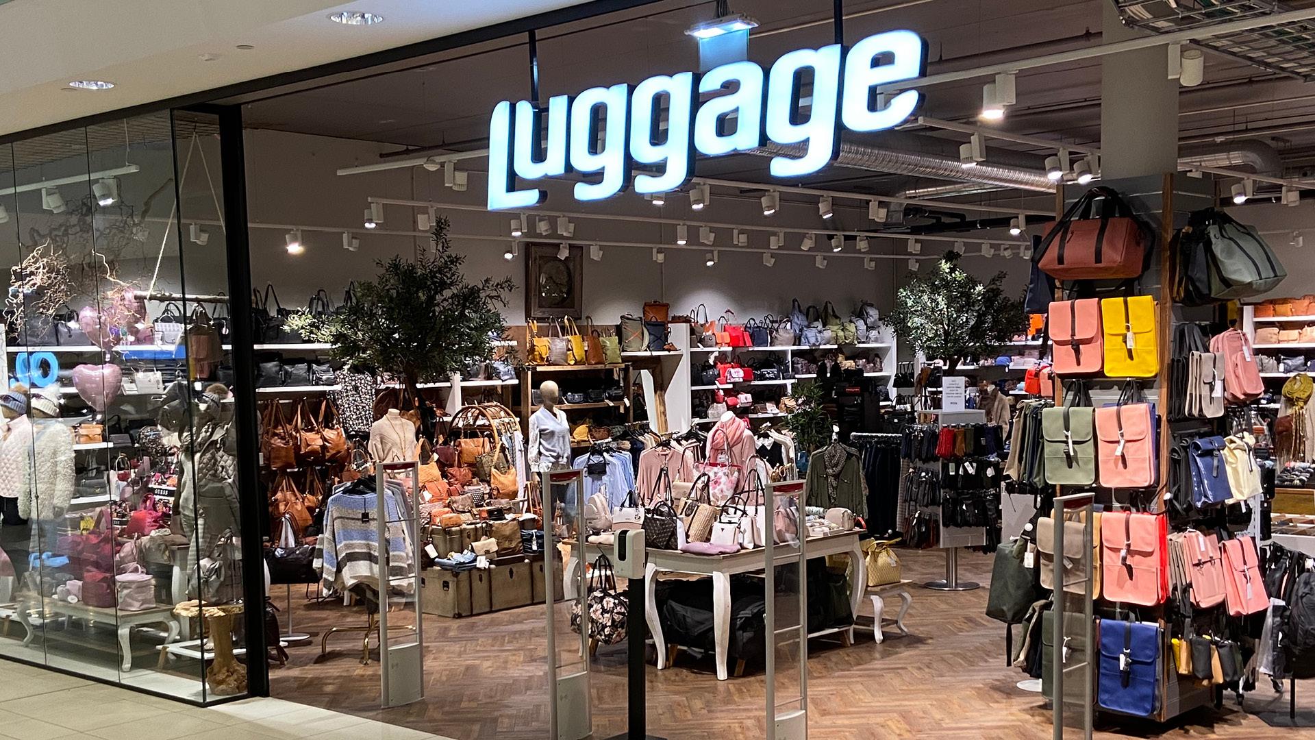 Bilde av butikk fasade Luggage