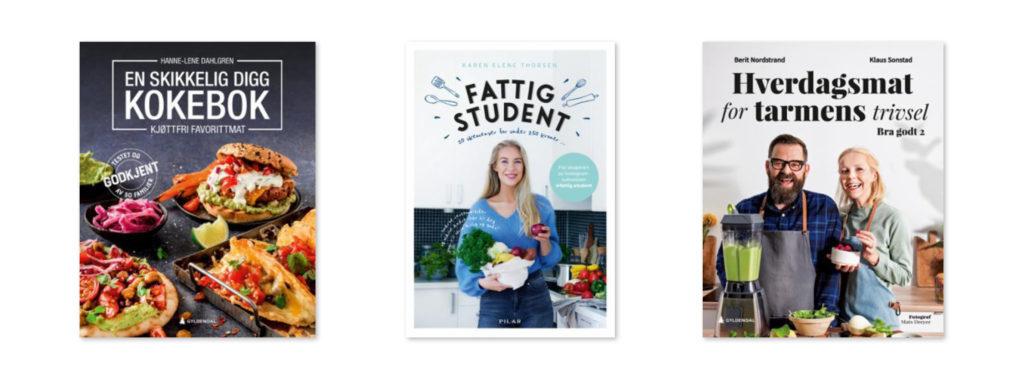 Bilde av bokcover en skikkelig digg kokebok, fattig student og hverdagsmat for tarmens trivsel