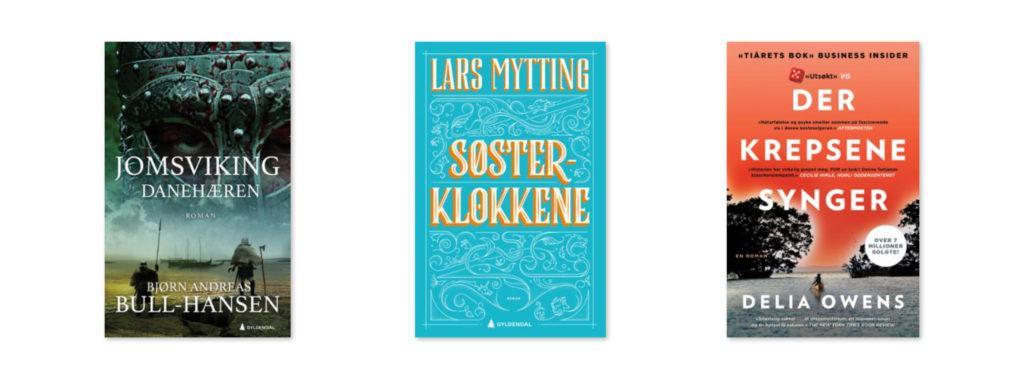 Bilde av bokcover danehæren, søsterklokkene og der krepsene synger
