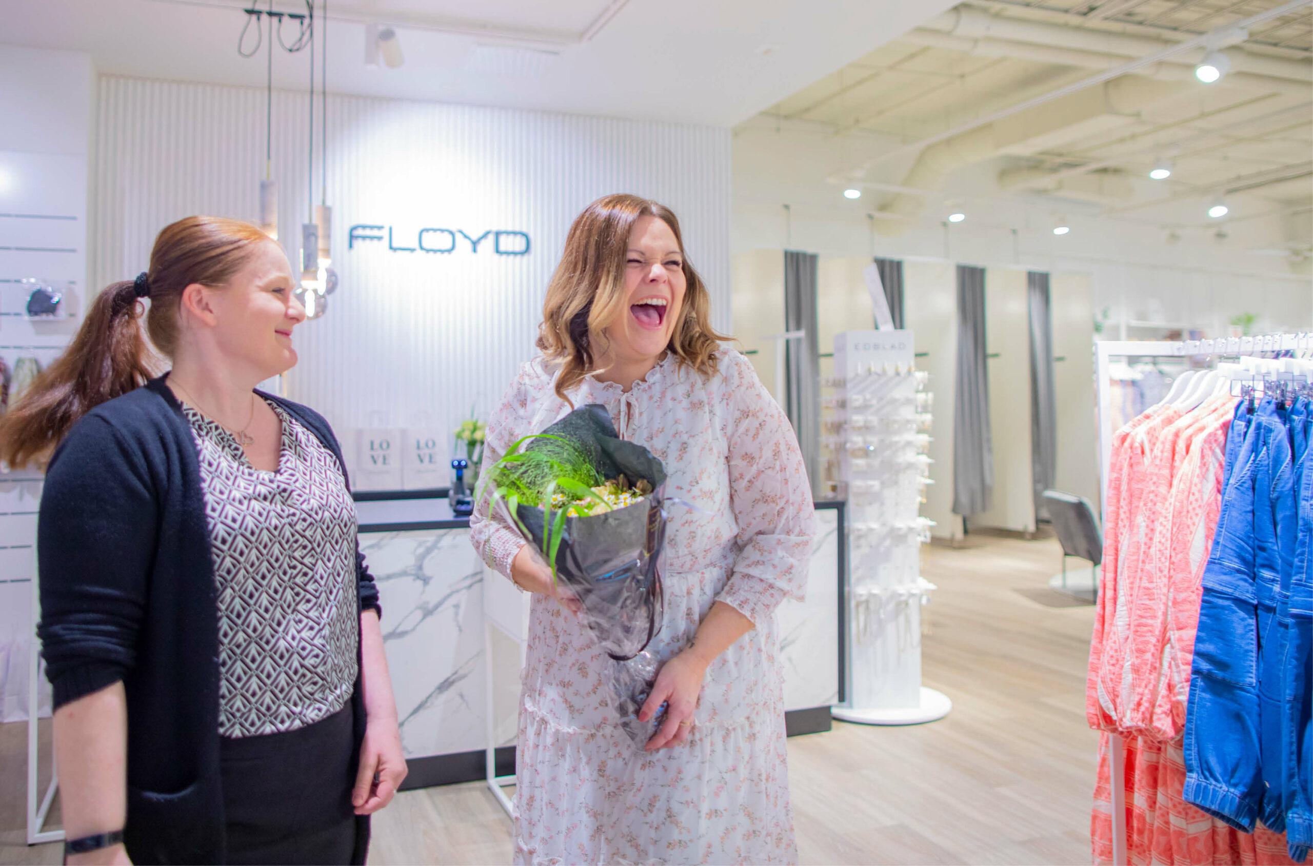 Floyd butikkkåpning