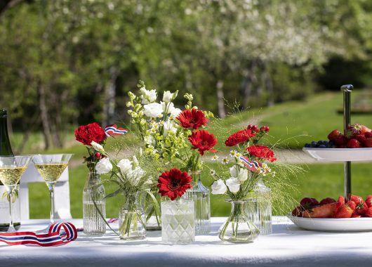 17. mai blomster fra Mester Grønn