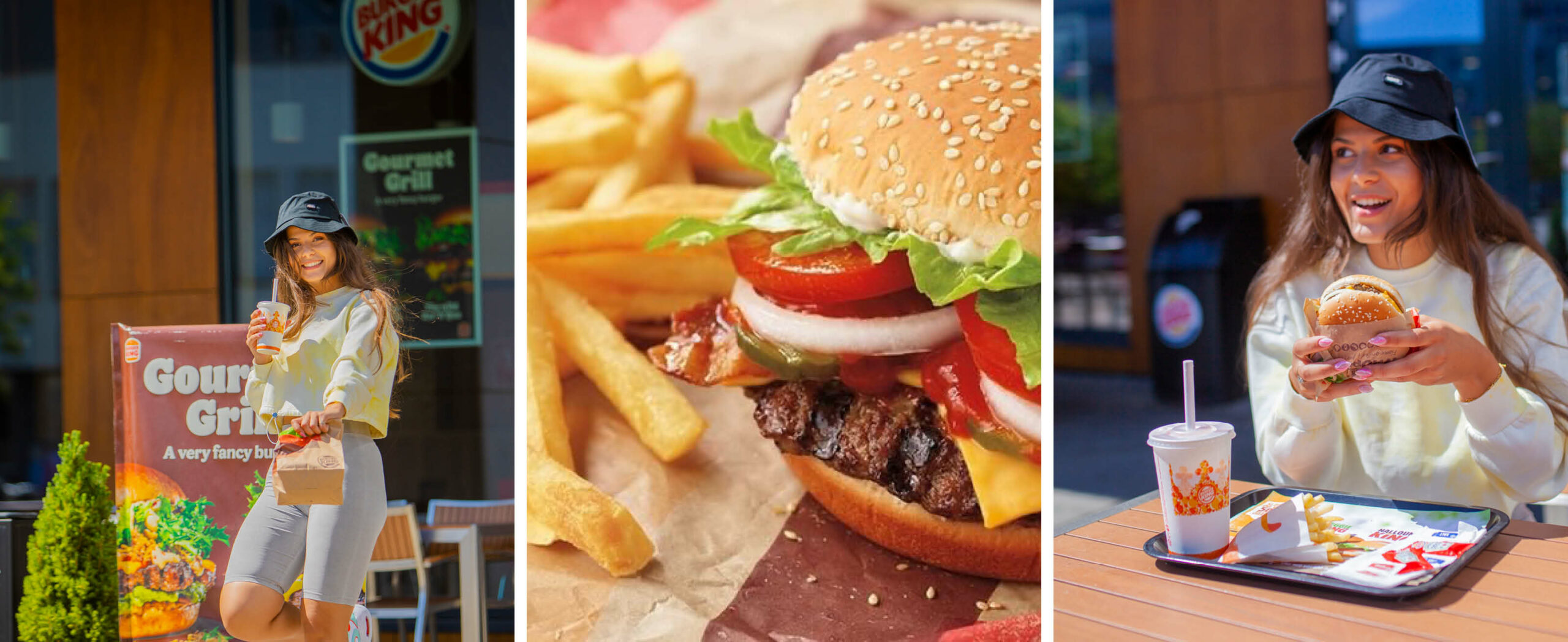 Mat fra Burger King